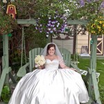 Wedding Dress Alteration Transformation - Now its a ballgown!!