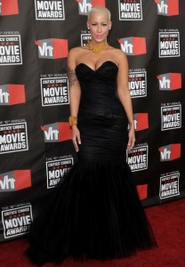 Amber Rose 16th Annual Critics Choice Movie Awards 2011