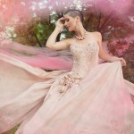 dupioni silk gown - White Willow Photography