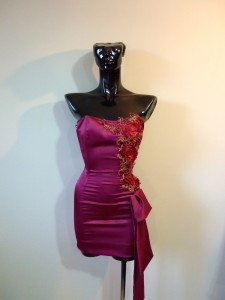 RTWC19 - satin & sequin, 325$