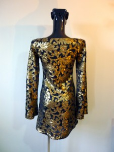 RTWC60 - baroque sequin with flared sleeves, 325$