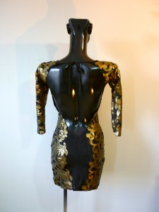 RTWC62 - baroque sequin open back, 275$