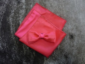 Custom bow tie and square,  no charge 0$