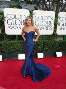 Cheryl Hickey @ 68th Annual Golden Globes Awards.